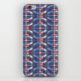 Time Warner Building Geo Stripe iPhone Skin