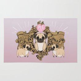 Pug Love Rug