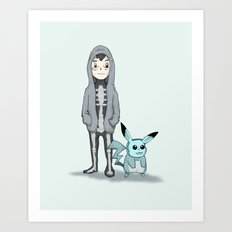 Ash Darko Art Print