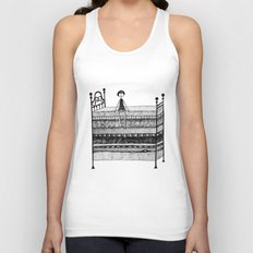 The Princess and the Pea Unisex Tank Top
