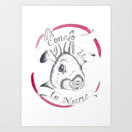 Rabbit of Death Art Print