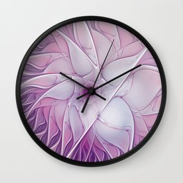 Beauty of a Flower Wall Clock