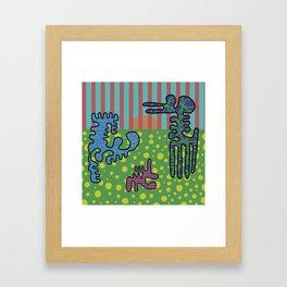 Happy Family Framed Art Print