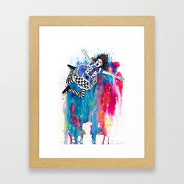 Sweet Disposition Framed Art Print