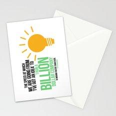 You Can Run a Billion Dollar Company Stationery Cards