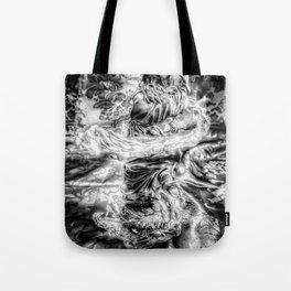 The Wiz - Black & White Tote Bag