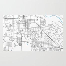 Ann Arbor, Michigan Rug