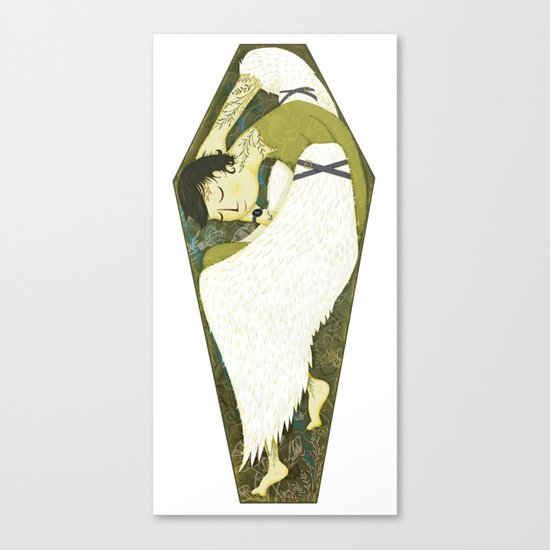 Eternal Sleep Canvas Print