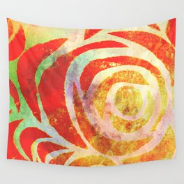 Sum' Rose Wall Tapestry