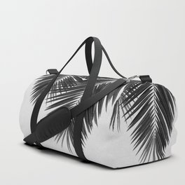 Palm Leaf Black & White II Duffle Bag