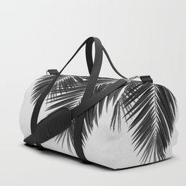 Palm Leaf Black & White II Duffle Bag