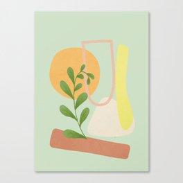 Partially Abstract 4 Canvas Print