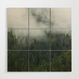Tree Fog Wood Wall Art