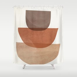 Abstract Shapes 18 Shower Curtain