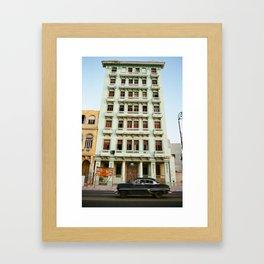 Malecon Framed Art Print