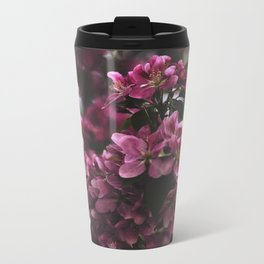 SPRING BLOSSOMS Metal Travel Mug
