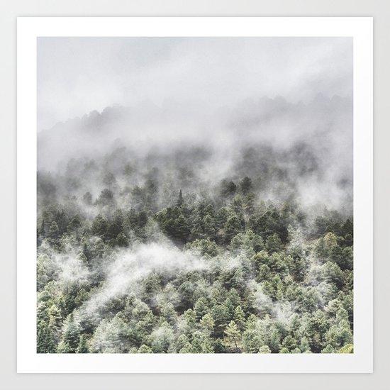 """""""Mountain light III"""". Wildderness. Mountains Art Print"""