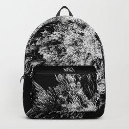 Spiky black and white Backpack