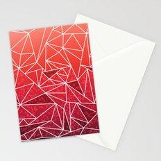 SUNSET RAYS Stationery Cards