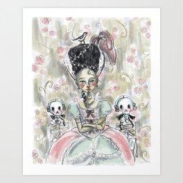 Frankie Antoinette  Art Print