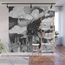 The Sky Fish Wall Mural