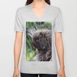 toony New World porcupines ( Erethizontidae) Unisex V-Neck