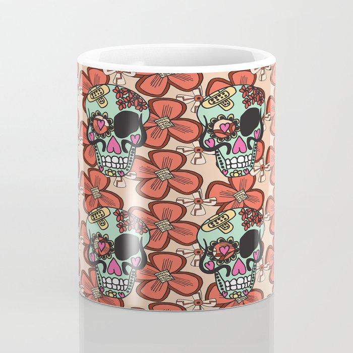flowerskull Coffee Mug