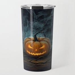 Halloween Pumpkin Travel Mug