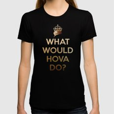 What Would Hova Do? - Jay-Z X-LARGE Black Womens Fitted Tee