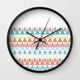 Colour of Spring 2 Wall Clock