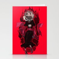 homestuck Stationery Cards featuring Grimdark Rose by Pris