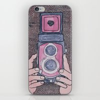 photographer iPhone & iPod Skins featuring Photographer by mojekris