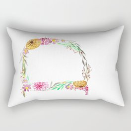 monograms - D Rectangular Pillow