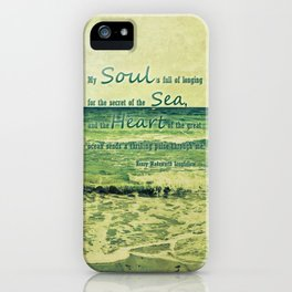 secret of the sea iPhone Case