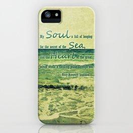 secret of the sea iPhone Case