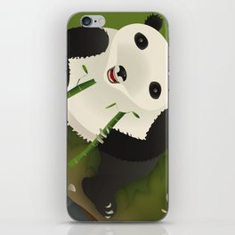 pppanda! iPhone Skin