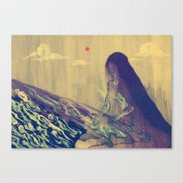 Dormant God Canvas Print