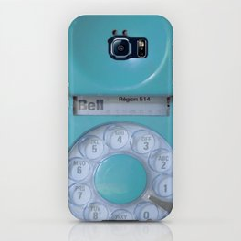 Aqua Hotline iPhone Case