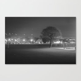 Field at Night Canvas Print