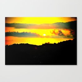 Extreme Sud Italy Canvas Print