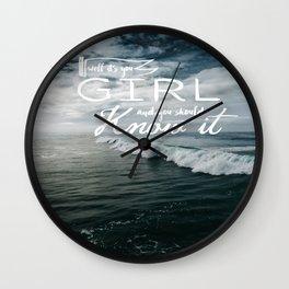 Ocean Beach San Diego Wall Clock