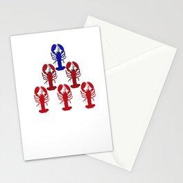Alpha Blue Lobster Hierarchy Jordan Peterson Meme Stationery Cards