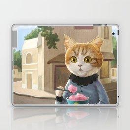Yummy ice cream and a Cat Laptop & iPad Skin