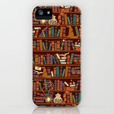 Bookshelf Slim Case iPhone SE