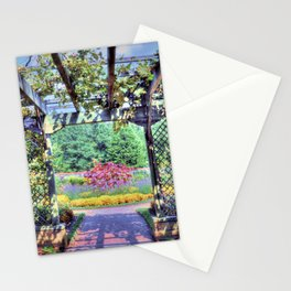 Grape Arbor Stationery Cards