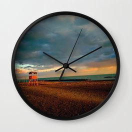 Bay-Watch Tower  Wall Clock