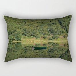 Llyn Mwyngil Reflection Rectangular Pillow