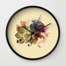 flower power III Wall Clock