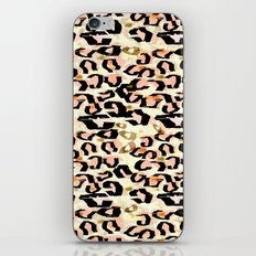 Abstract Leopard Print iPhone & iPod Skin