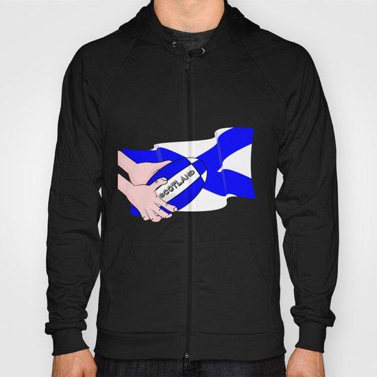Rugby Scotland Flag Hoody